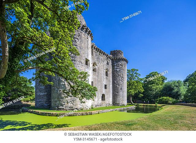 Nunney Castle, Somerset, England, United Kingdom, Europe