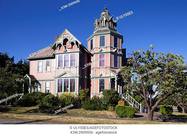 George Starret house (1889), Victorian home, now Ann Starrett Mansion boutique Hotel, Port Townsend, State of Washington, USA, America