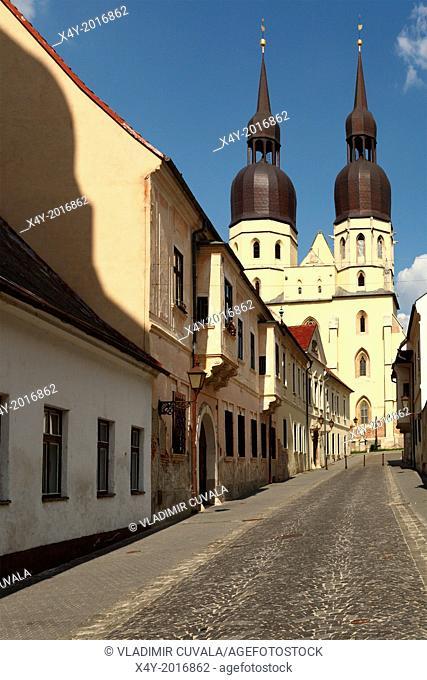The gothic basilica of St. Nicolaus, Trnava, Slovakia
