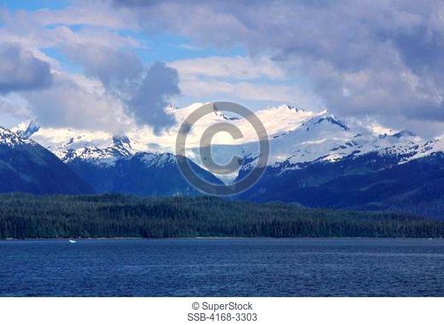 Usa, Alaska, Inside Passage, Frederick Sound, Near St. Petersburg, Leconte Glacier