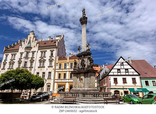Historic old town of Loket nad Ohri, region Karlovy Vary, west Bohemia, Czech Republic