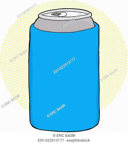 Soda in Can Cooler