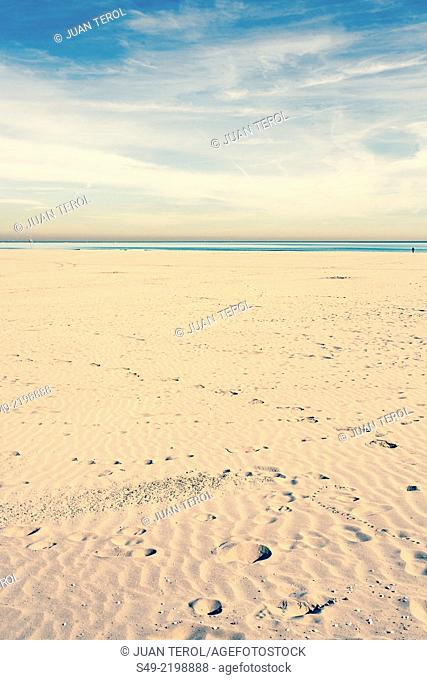 Malvarrosa Beach. Valencia. Spain