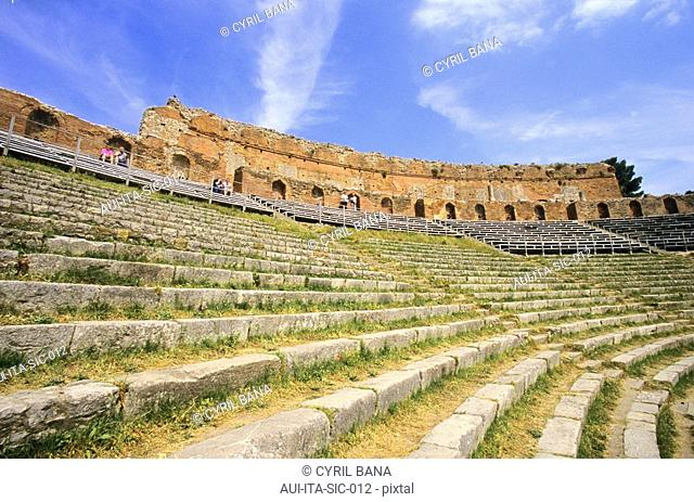 Italy - Sicily - Taormina Theatre