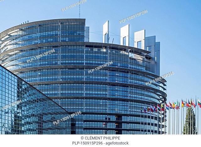 European Parliament / EP at Strasbourg, France