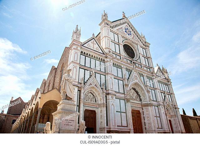 Santa Croce church, Piazza di Santa Croce, Florence, Tuscany, Italy