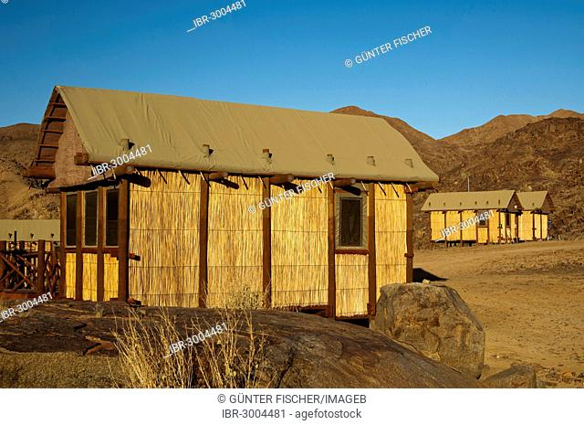 Self-catering accommodation in the Tata Wilderness Camp, Richtersveld Transfrontier National Park