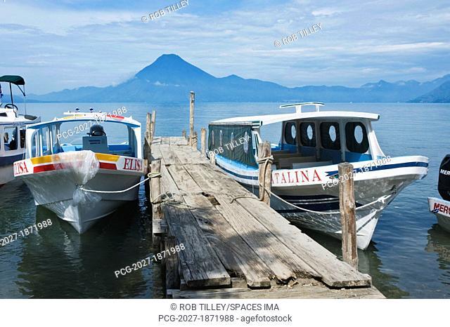 Water Taxis on Lake Atitlan