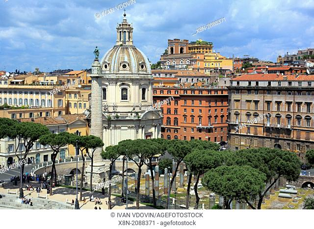 Church of the Most Holy Name of Mary at the Trajan Forum (Santissimo Nome di Maria al Foro Traiano), Rome, Italy