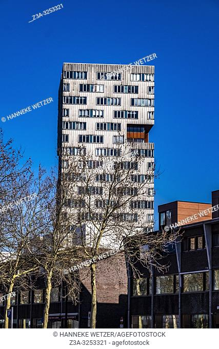 Modern architecture in Amsterdam-East, the Netherlands, Europe