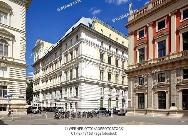 Austria, A-Vienna, Danube, Federal Capital, Hotel Imperial at the Kaerntner Ring, Vienna Ring Road, palais, Grand Hotel, neo renaissance