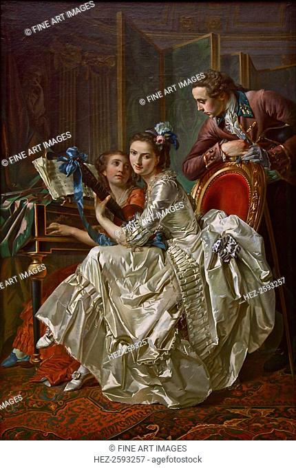 The Music Party, 1774. Found in the collection of the Alte Pinakothek, Munich