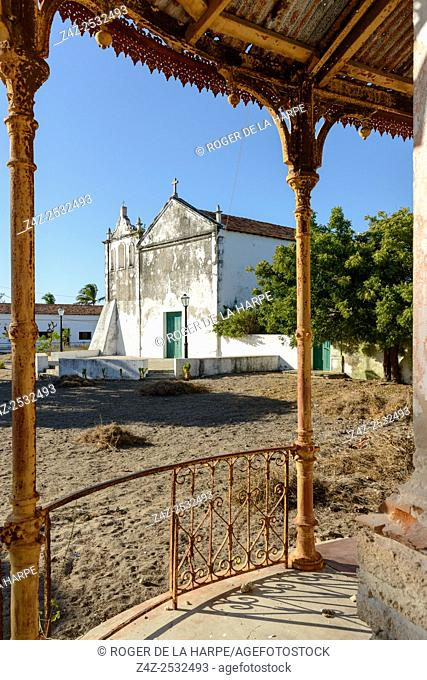 The church on Ibo Island. Mozambique