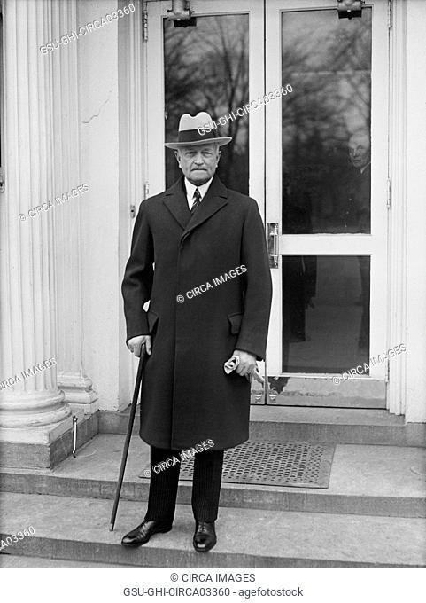 John J. Pershing, Portrait at White House, Washington DC, USA, Harris & Ewing, 1932