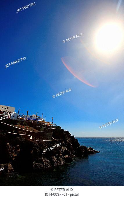 Spain, Canary islands, Lanzarote, puerto del carmen