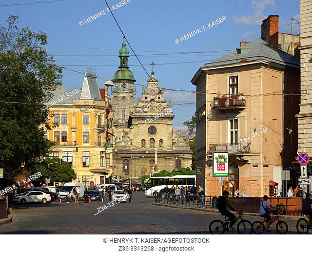 Greek Catholic Church of St Andrew, Bernardine Church, Lviv, Ukraine