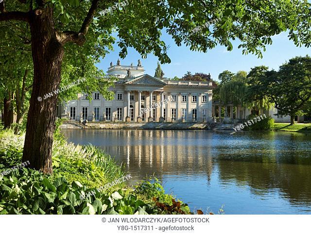 Warsaw, Lazienki Royal Palace , Poland, Europe