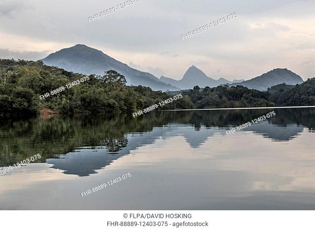 The River Neyyar, Western Ghats, Kerala, India
