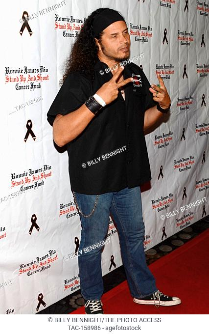 "Jeff Scott Soto arrives at the 3rd Annual """"Bowl 4 Ronnie"""" Celebrity Bowling Tournament, benefiting the """"Ronnie James Dio Stand Up and Shout Cancer Fund..."