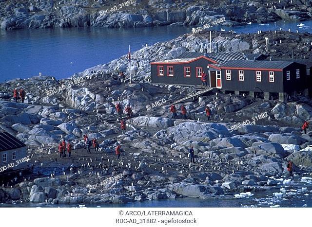 Port Lockroy Station Gerlache Strait Antarctica