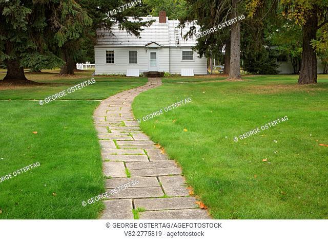 Residence house, Savenac Historic Tree Nursery, Lolo National Forest, Montana