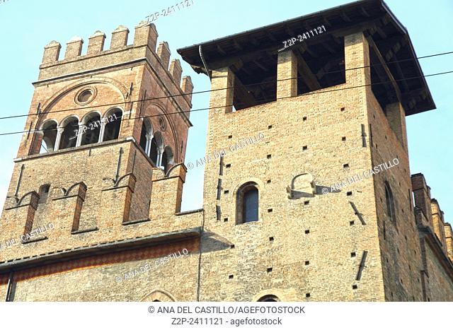 Palazzo del Podestà. Bologna. Emilia-Romagna. Italy