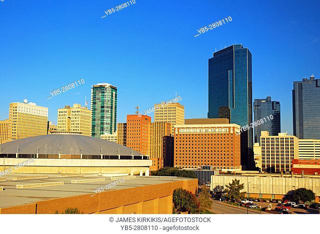 The Ft Worth Skyline