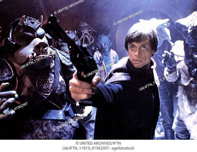 Die Rückkehr der Jedi-Ritter Star Wars - Episode VI: Return of the Jedi, USA 1983, Regisseur: Richard Marquand, Writer: George Lucas