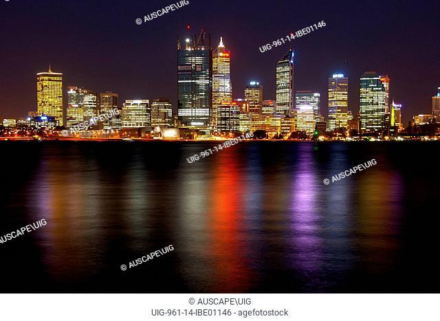 City skyline, Perth, Australia