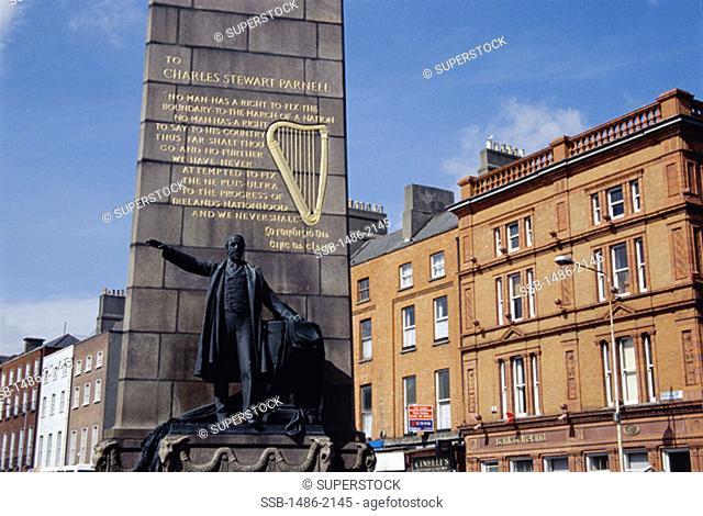 Parnell Monument Dublin Ireland