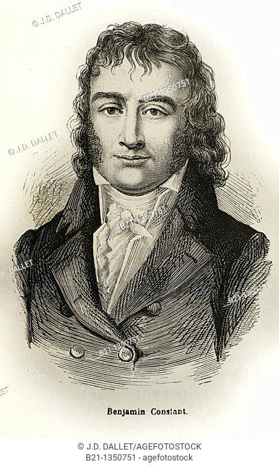 France, History, 19th Century - Henri-Benjamin Constant de Rebecque 25 October 1767 - 8 December 1830 was a Swiss-born French nobleman, thinker