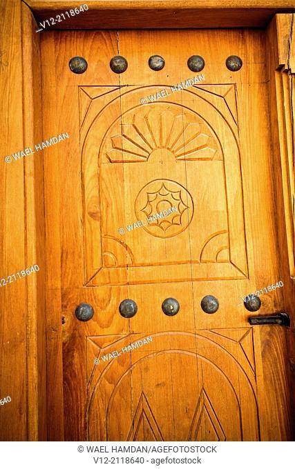 Antique door, dubai, United arab emirates