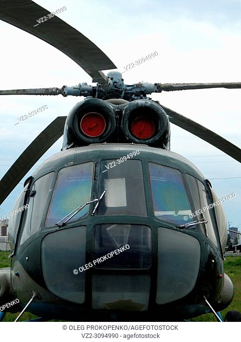 Civil and military helicopters in detail