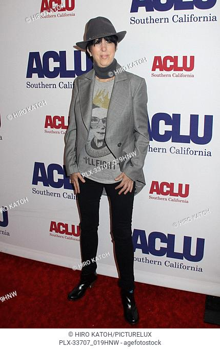 Diane Warren 11/11/2018 The ACLU SoCal's Annual Bill of Rights Dinner held at The Beverly Wilshire Hotel in Beverly Hills