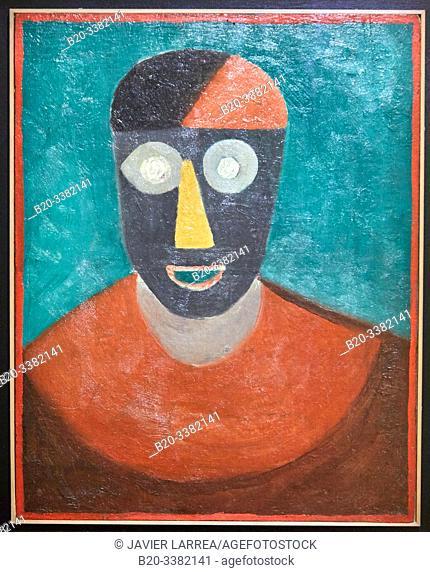 """""""Portrait de Picasso"""", 1920-1925, Manuel Ortiz de Zárate, Picasso Museum, Paris, France, Europe"""