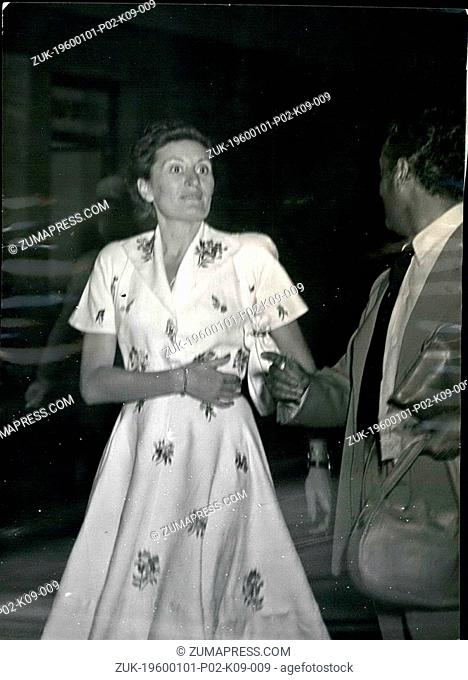 Dec. 14, 1965 - An Italian paper reports the new Countess Edda Ciano, the daughter of Premier Mussolini, will wed President Peron