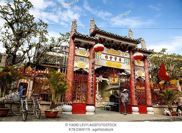 Cantonese Assembly Hall (Quang Trieu), Hoi An, Vietnam
