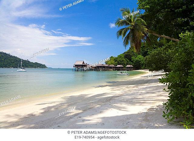 Pangkor Laut island, near Pulau Pangkor. West coast of Malaysia