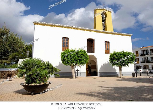 Church of Santa Gertrudis, 18th century, Ibiza, Balearic Islands, Spain