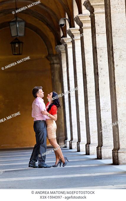 Couple San Ivo alla Sapienza Rome Italy