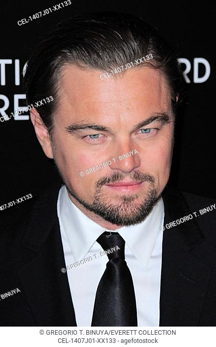 Leonardo DiCaprio at arrivals for National Board Of Review Awards Gala 2014, Cipriani 42nd Street, New York, NY January 7, 2014. Photo By: Gregorio T