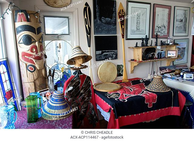 Keenawaii's Kitchen, Skidegate, Haida Gwaii, formerly known as Queen Charlotte Islands, British Columbia, Canada