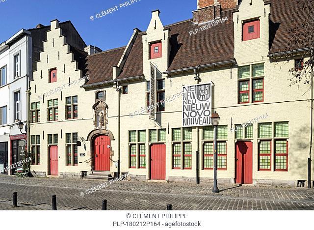 Huis van Alijn / Alijn Hospital / mediaeval House of Alijn, 14th century almshouse now Flemish folklore museum in the city Ghent, Belgium