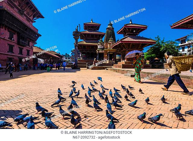Durbar Square (A UNESCO World Heritage Site), Patan (Lalitpur), Nepal