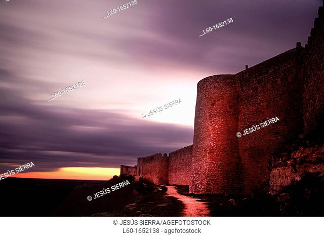 Castle, Urueña, Valladolid, Castile and Leon, Spain