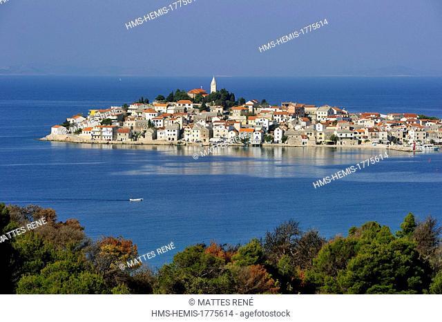 Croatia, Dalmatia, Dalmatian coast, Primosten