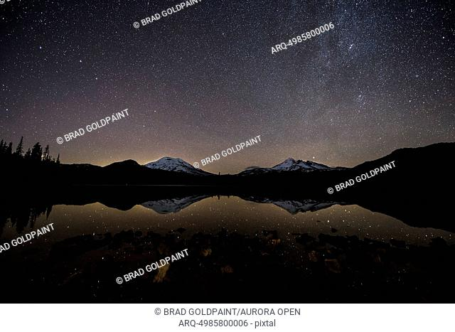 Sparks Lake and the Milky Way