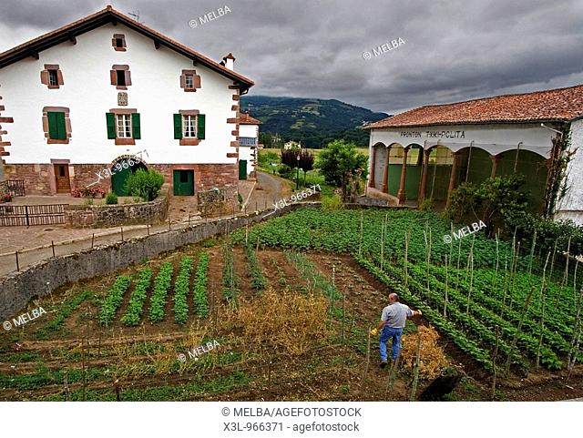 Lekaroz Baztan valley  Navarre  Spain