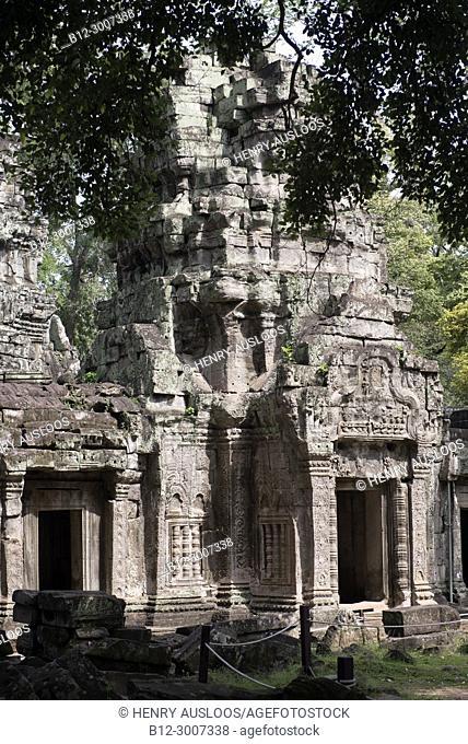 Cambodia; Siem Reap; Angkor; Temple of Ta Prohm