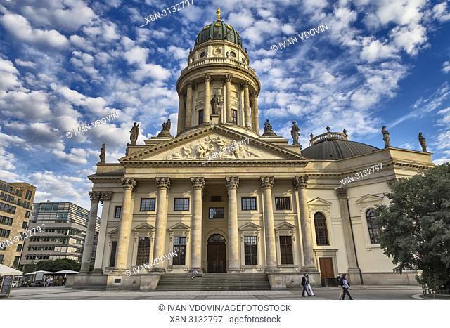 Neue Kirche, New Church, Deutscher Dom, German Church, Gendarmenmarkt, Berlin, Germany